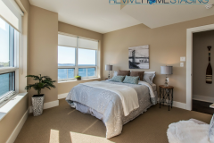 67-Kings-Wharf-Condos-unit-602-Dartmouth-NS-Revive-Home-Staging-Pam-MacKinnon-Expert-Home-Stager-Real-Estate-Halifax-NS-Master-Bedroom-Water-Views-2