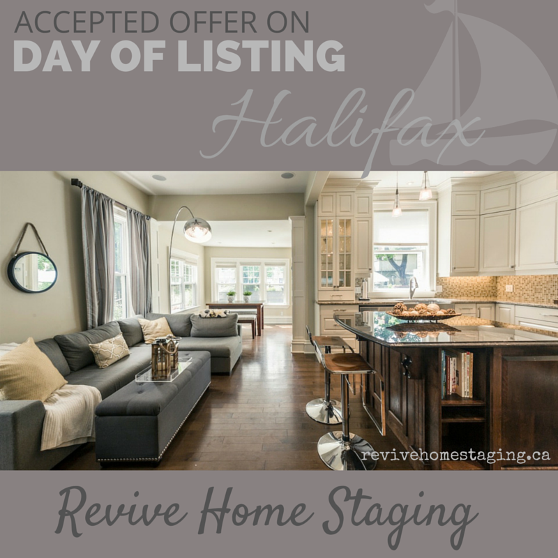 Revive Home Staging Halifax NS Home Sold in One Day Real Estate Home Stager