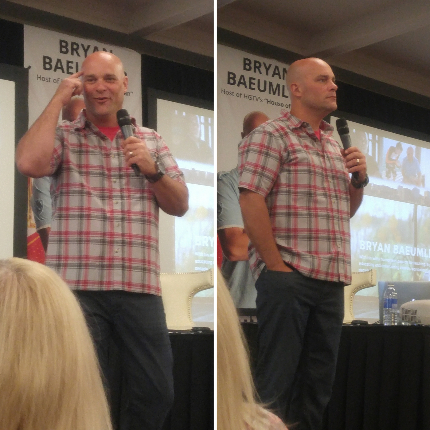 Bryan Baeumler at the Westin Halifax NS 40 Minutes with Bryan